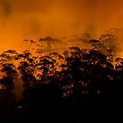 Sisters Hills Back Burning by Paul Campbell  Photography