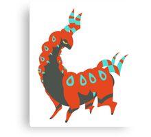 Pokemon Sticker: Shiny Scolipede! Canvas Print