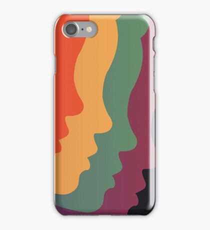Cascading Girls iPhone Case/Skin