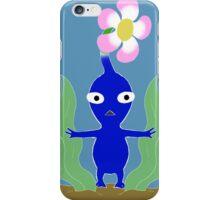Blue Pikmin in Seaweed iPhone Case/Skin