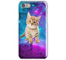 Galaxy print CUTE KITTEN hipster #3 iPhone Case/Skin