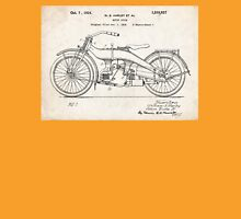 Harley-Davidson Motorcycle US Patent Art 1924 Unisex T-Shirt