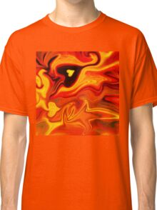 Hot Hearts Abstract Painting Classic T-Shirt