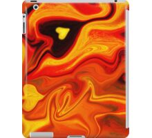 Hot Hearts Abstract Painting iPad Case/Skin