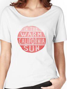 Warm California Sun Women's Relaxed Fit T-Shirt
