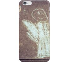 Child's Chalk Ghost iPhone Case/Skin