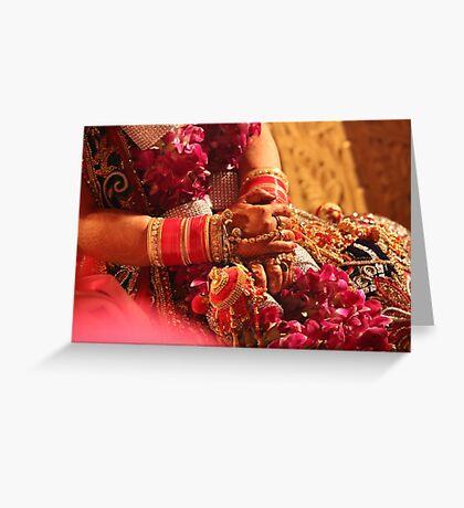 Indian Wedding Greeting Card