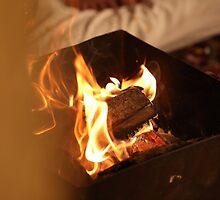 Indian Fire Ritual Worship by Raghu Bharadwaj