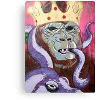 King Kong Street style Canvas Print