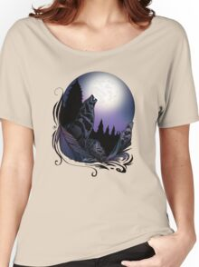 Howling Wolf (Signature Design) Women's Relaxed Fit T-Shirt