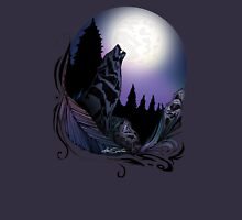 Howling Wolf (Signature Design) Womens Fitted T-Shirt