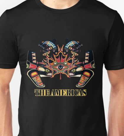 The Americas Unisex T-Shirt