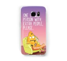 One Person With Extra People, Please. Samsung Galaxy Case/Skin