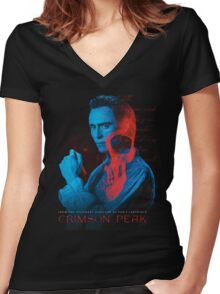 Crimson Peak The Movie Women's Fitted V-Neck T-Shirt
