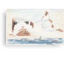 Culverville Island Canvas Print