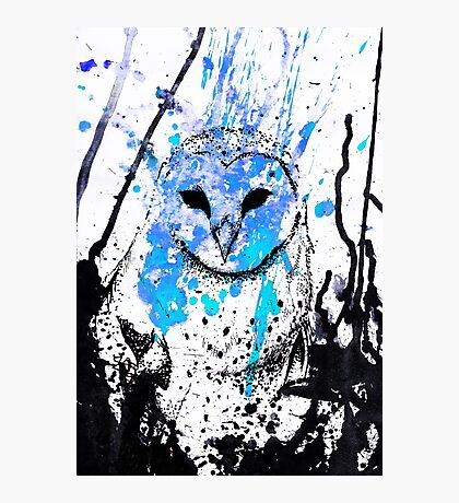 Watcher - Blue Photographic Print