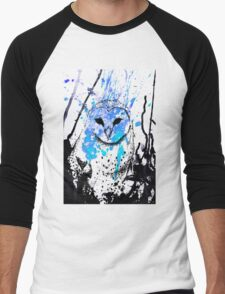 Watcher - Blue Men's Baseball ¾ T-Shirt