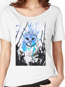 Watcher - Blue Women's Relaxed Fit T-Shirt