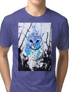 Watcher - Blue Tri-blend T-Shirt
