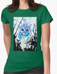 Watcher - Blue Womens Fitted T-Shirt