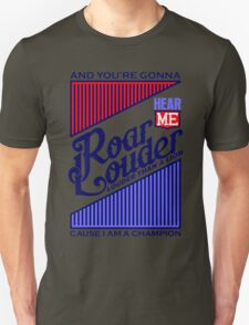 Typography : Roar Lyrics T-Shirt