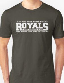 Typography : Royals T-Shirt