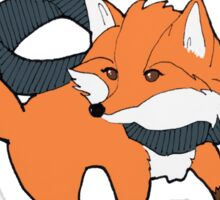 Foxie sticker Sticker