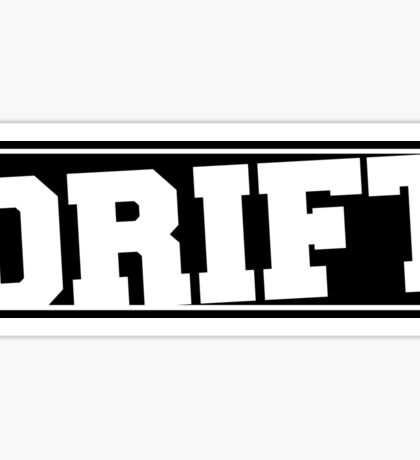 Drift Sticker