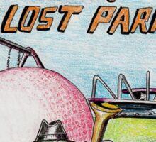 Raiders of the Lost Park Sticker