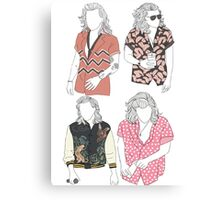 Fashion Harry Shirt Canvas Print