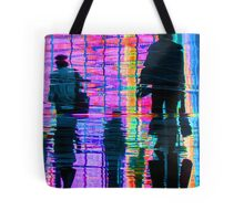 Commuter Abstract Tote Bag