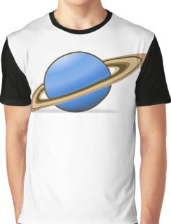Planet Saturn Graphic T-Shirt
