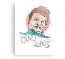 "Mac DeMarco ""MAC DADDY"" Canvas Print"