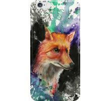 Fox of Many Colors iPhone Case/Skin