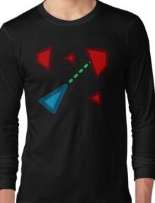 Arcade Space Game Long Sleeve T-Shirt