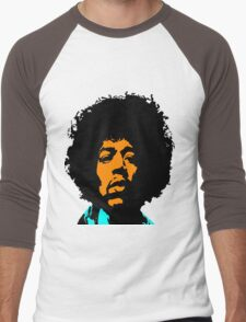 Jimmy Hendrix Men's Baseball ¾ T-Shirt