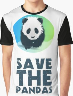 Save The Pandas Graphic T-Shirt