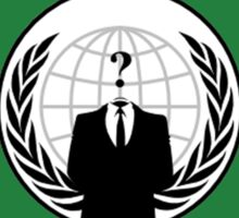 Anonymous Flag Sticker