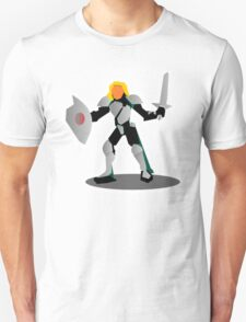 RPG Fighting Armored Warrior Character Knight Unisex T-Shirt