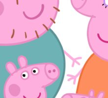 Peppa Pig Family Sticker