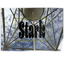 Stark Water Tower Poster