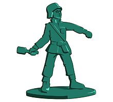Toy Army Soldier Photographic Print