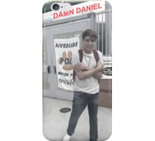 DAMN DANIEL iPhone Case/Skin