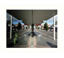 Reflection,Top Ryde,NSW,Australia 2014 Art Print