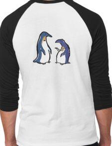 penguin lifestyles Men's Baseball ¾ T-Shirt