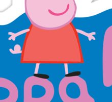 Peppa Pig Logo Sticker
