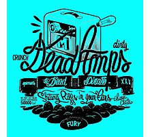 DEAD AMPS : CRUNCH & DIRTY Photographic Print