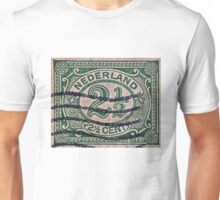 """1899 Netherlands Stamp"" Unisex T-Shirt"