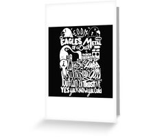 EAGLES OF DEATH METAL Greeting Card