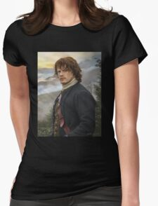 Portrait of a Laird Womens Fitted T-Shirt